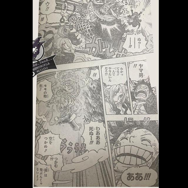One Piece chap 1027: Zoro suýt bị đánh văng khỏi đảo Oni, King bị chém nửa bên mặt - Ảnh 3.