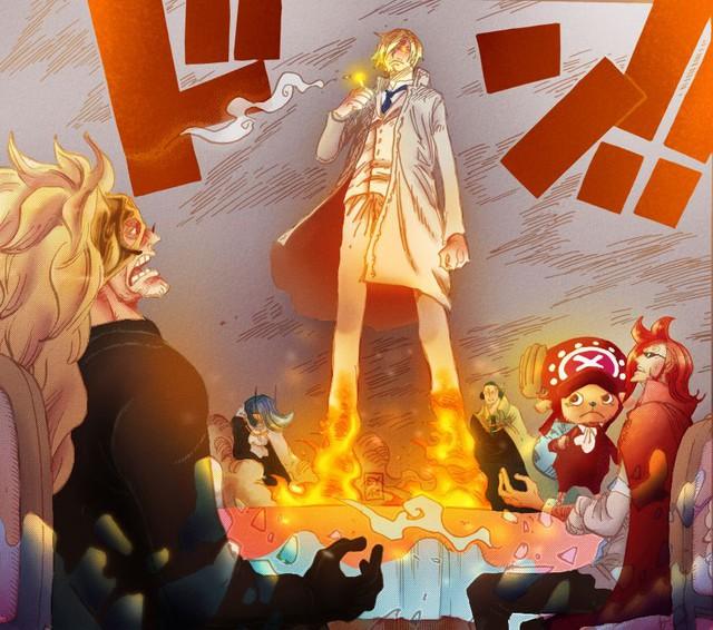 One Piece: Mối liên hệ bất ngờ giữa Sanji và King, chủng tộc bí ẩn của Tam Tai này có liên quan đến gia tộc Vinsmoke? - Ảnh 4.