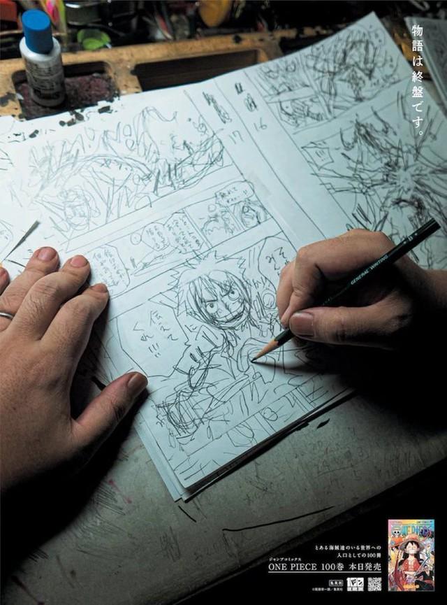 Tác giả Oda lại tuyên bố truyện chuẩn bị kết thúc, các fan One Piece lo ngại khi phần live-action nhá hàng logo - Ảnh 2.