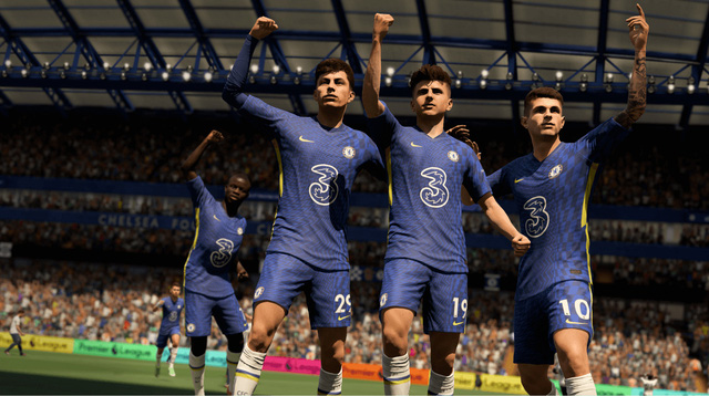 FIFA 22 is available on Steam, the configuration is extremely light, without the graphics card it still plays well - Photo 2.