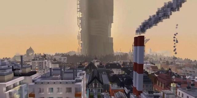 Nhóm modder dành nửa thập kỷ để tái tạo lại Half-Life 2 trong Minecraft - Ảnh 2.