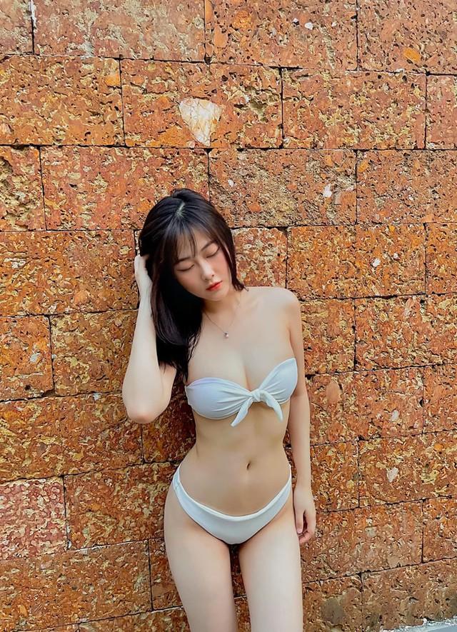 Xinh đẹp và gợi cảm với số đo ba vòng 90-59-91, nàng hot girl khiến CĐM ngỡ ngàng, đặt biệt hiệu nàng thơ xứ Huế - Ảnh 9.