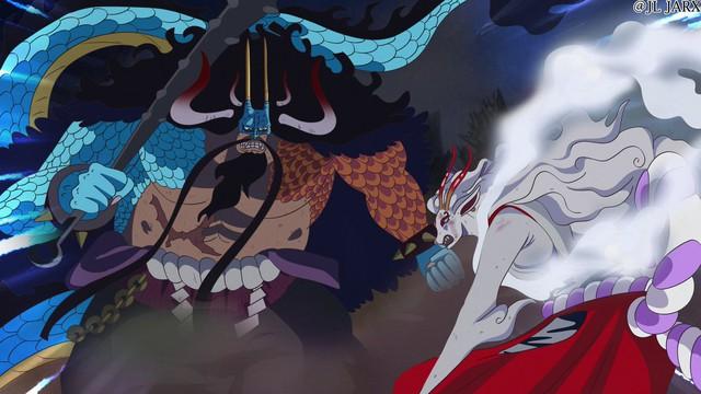 One Piece: Tiếp tục bị đánh hội đồng trong chap mới Kua2-16310113896911469508597