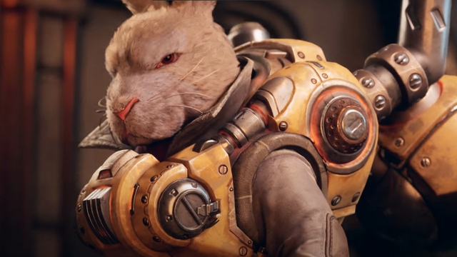Appears a game that allows you to play the role of a super cool superhero rabbit - Photo 1.