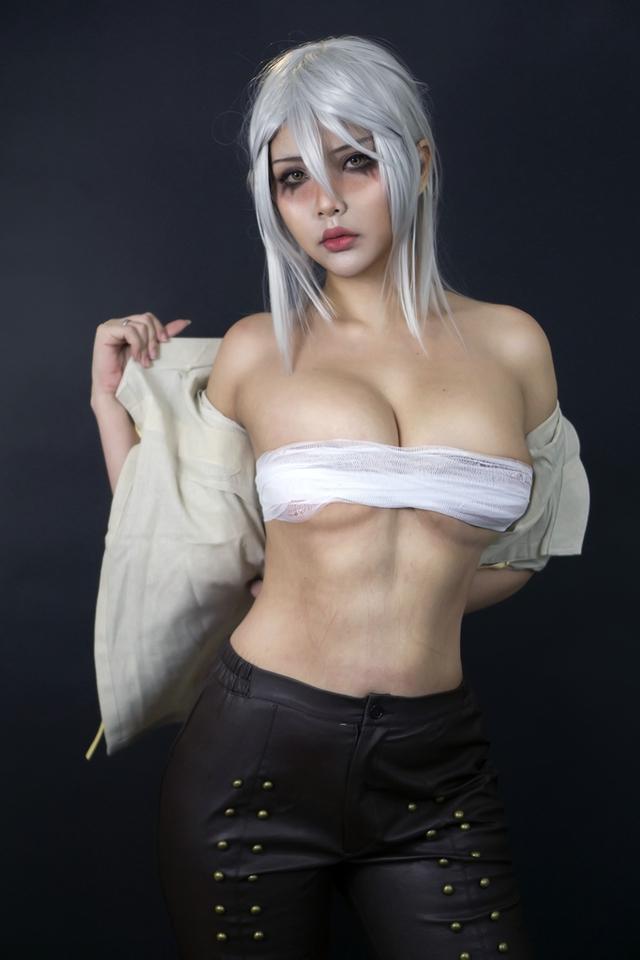 The Witcher: Ngắm cosplay Ciri chân dài gợi cảm và quyến rũ Photo-1-16310708092861796307130