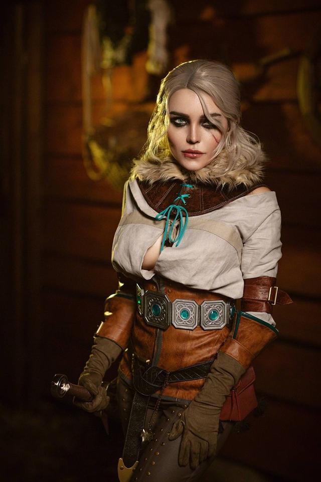 The Witcher: Ngắm cosplay Ciri chân dài gợi cảm và quyến rũ Photo-1-16310709374841725094893