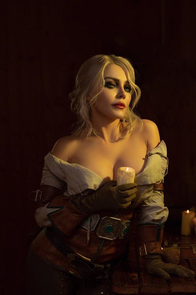 The Witcher: Ngắm cosplay Ciri chân dài gợi cảm và quyến rũ Photo-1-16310709727291991564257