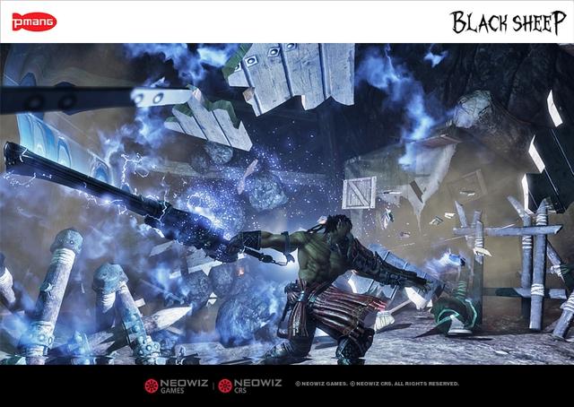 Black Sheep - Game nhập vai non-target tuyệt đẹp từ xứ Kim Chi 1