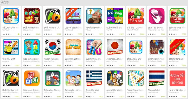 Bắt Chữ - Hiện tượng game mobile mới nổi tại Việt Nam