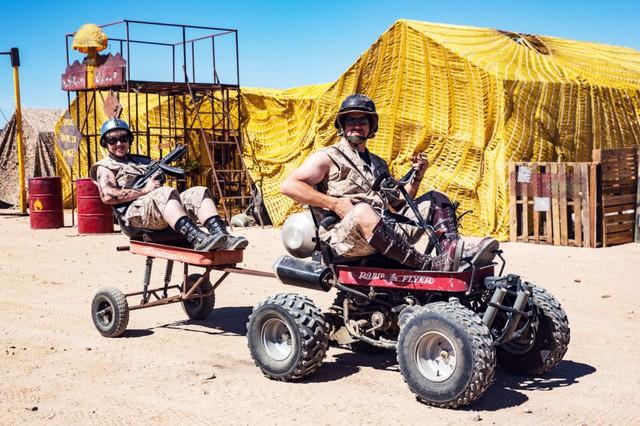 Đương nhiên không phải mọi phương tiện ở Wasteland đều là ô tô hoặc xe máy, nhưng chiếc xe buggy cũng rất phổ biến