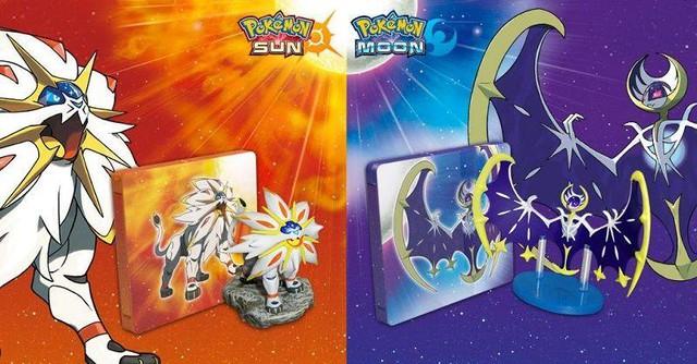 Pokemon Sun and Moon đã trở thành game Pokemon bán chạy nhất trên 3DS của Nintendo (trong hình là 2 Pokemon huyền thoại mới có trong phiên bản này).