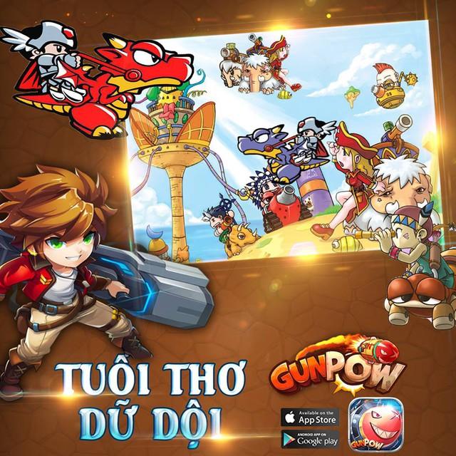 GunPow - Game bắn súng giống Gunbound được VNG cập bến Việt Nam