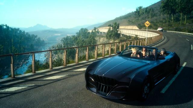 Không chỉ là chơi game, Final Fantasy XV còn khiến bạn cảm thấy như mình đang được di du lịch
