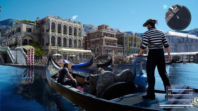 Một thành phố giống hệt như Vienne của Áo trong Final Fantasy XV