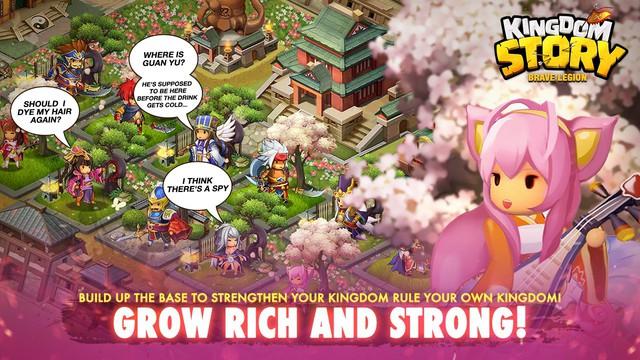 Kingdom Story - Game nhập vai chibi Tam Quốc vui nhộn và phá cách