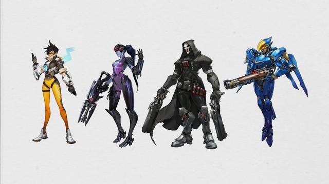 4 nhân vật đầu tiên của Overwatch là thành quả của đống tro tàn Project Titan
