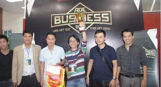 Team Socon, nhà vô địch giải đấu AoE Business Cup 2016.