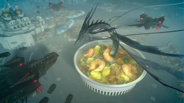 Nấu mỳ tôm rồng?