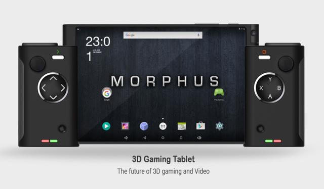Chiếc máy chơi game Android thú vị.