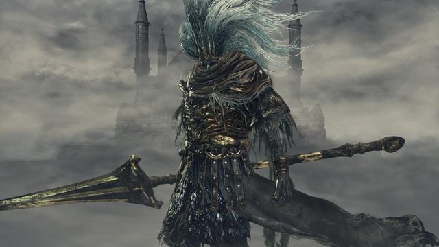 Nameless King hay Vua Vô Danh - con trùm khó nhất trong Dark Souls 3.