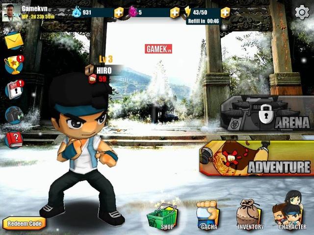 """Fist and Furios - Game nhập vai """"đánh đấm"""" cho người thích phong cách Chibi"""