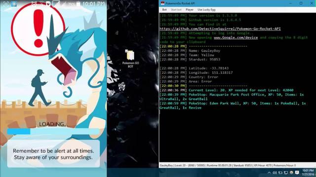 Vừa ra mắt, Pokemon GO đã bị hack tơi bời hoa lá với hàng chục bản hack/ bots khác nhau