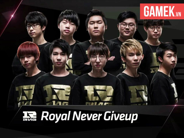 Looper đã có một năm đầy thành công cùng đội tuyển Royal Never Give Up tại Trung Quốc.
