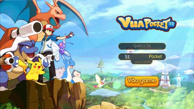 Vua Pocket 3D đang thu hút lượng game thủ khổng lồ yêu thích Pokemon tại Việt Nam