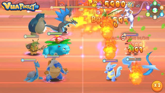 PvP trong Vua Pocket 3D đã có sẵn nhiều chế độ chiến đấu cực thú vị