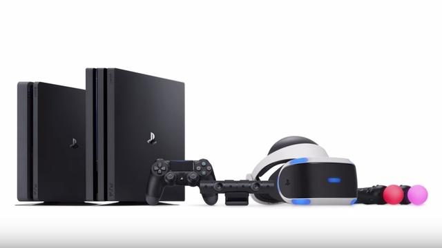 Đại gia đình PS4 đang thống trị thị trường console hiện tại.