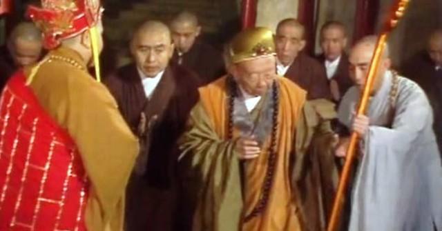 Phân cảnh hòa thượng trong phim