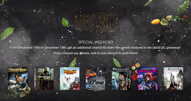 Tuần lễ tặng game miễn phí cuối cùng của Ubisoft, các bạn hãy nhanh chân tải và đừng quên mời cả bạn bè để có người chơi cùng.