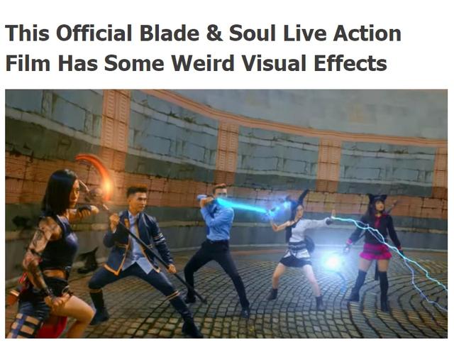 Thậm chí, một trang tin về game cũng lên tiếng chê kĩ xảo của phim Blade and Soul: Sứ Mệnh Người Được Chọn