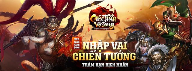 Chiến Thần Vô Song - Webgame nhập vai hành động chuẩn bị ra mắt vào ngày 24/11/2017 sắp tới