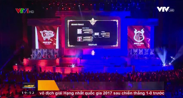 Giải đấu game Việt Nam bất ngờ lên sóng truyền hình VTV1