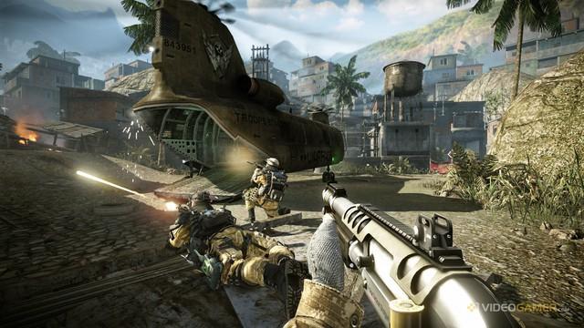 Warface có thể xem là tựa game bắn súng đẹp nhất từng được phát hành tại Việt Nam