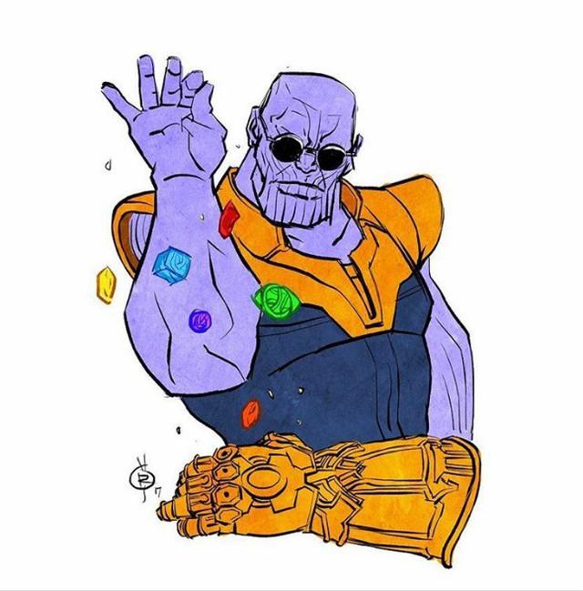 Và cuối cùng là khi Thanos thả đá vào găng theo phong cách lãng tử... Không phải nói chắc bạn biết đây là phong cách của ai rồi phải không nào.