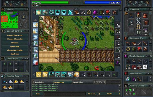 Tibia - Webgame nhập vai đã có tới 20 năm tuổi