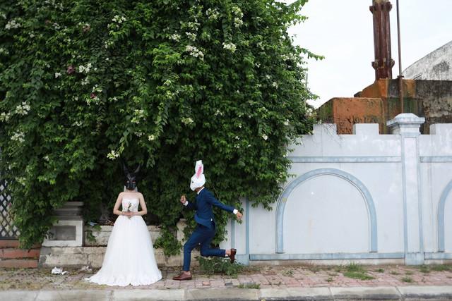 Những bức ảnh cưới cực độc của cặp đôi này (ảnh nhân vật cung cấp)