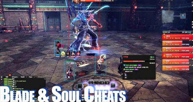 Hack Blade and Soul vốn đã bị hack từ server nước ngoài