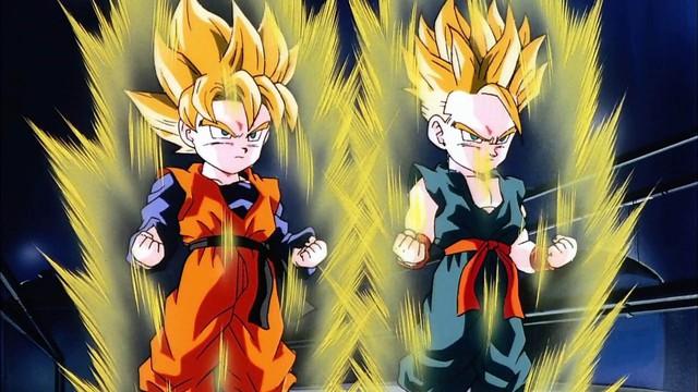Son Goten và Trunks không cần luyện tập nhiều cũng có thể trở thành Super Saiyan là do thừa hưởng lượng S-Cells từ cha