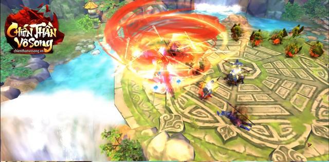 Theo quan sát, tựa game này sẽ pha trộn thêm cả những yếu tố tiên hiệp (ảnh lấy từ fanpage Chiến Thần Vô Song)