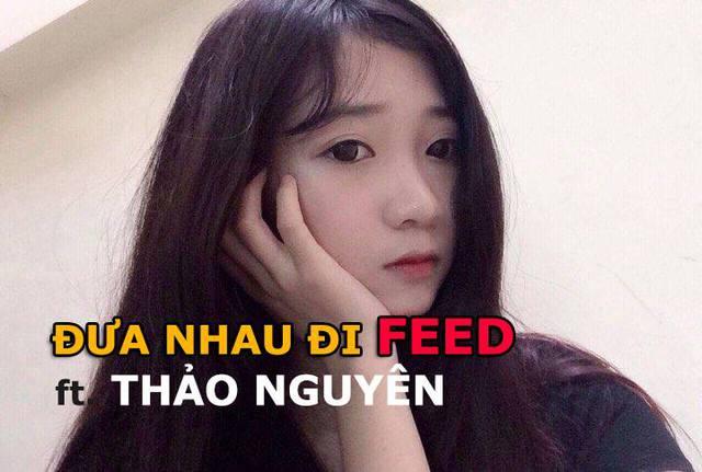 Đưa nhau đi feed với hot girl Thảo Nguyên.