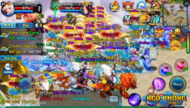 Game ra được hơn 4 năm mà người chơi vẫn đông vui như trẩy hội. Rất ít game mobile nào làm được điều này!