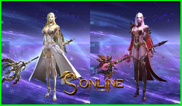 Pháp Sư tộc Elf và tộc Vail trong S Online được coi là hiện thân của hai chị em nữ thần Etain và Mitain.