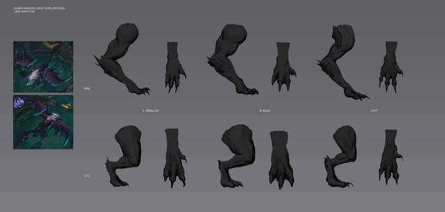 Phần chân của Rồng ngàn tuổi