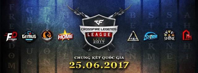 8 đội game Crossfire Legends tranh tài tại CKQG CF2L
