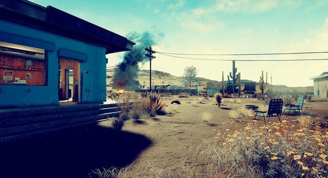 Playerunknowns Battlegrounds lộ bản đồ sa mạc mới toanh, khác hoàn toàn hòn đảo cũ