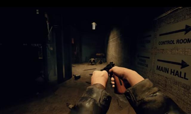 Trong Husk người chơi có thể sử dụng vũ khí chứ không chỉ có chạy trốn.