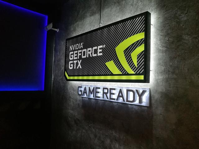 Chứng nhận GeForce iCafe bên trong phòng máy